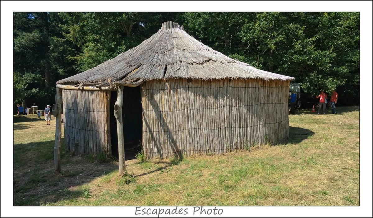 hutte de sabotier à Coatloch