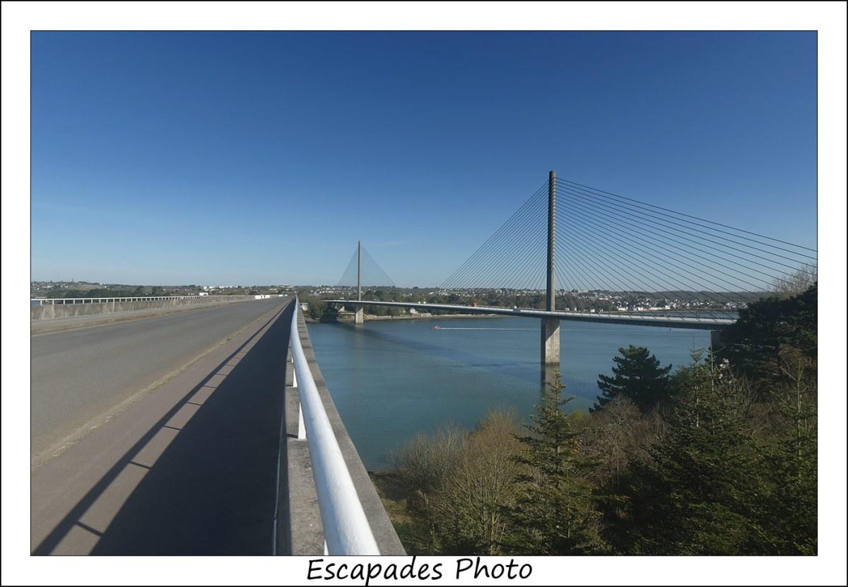 Pont Albert Louppe - Pont de l'Iroise : Parallélismes