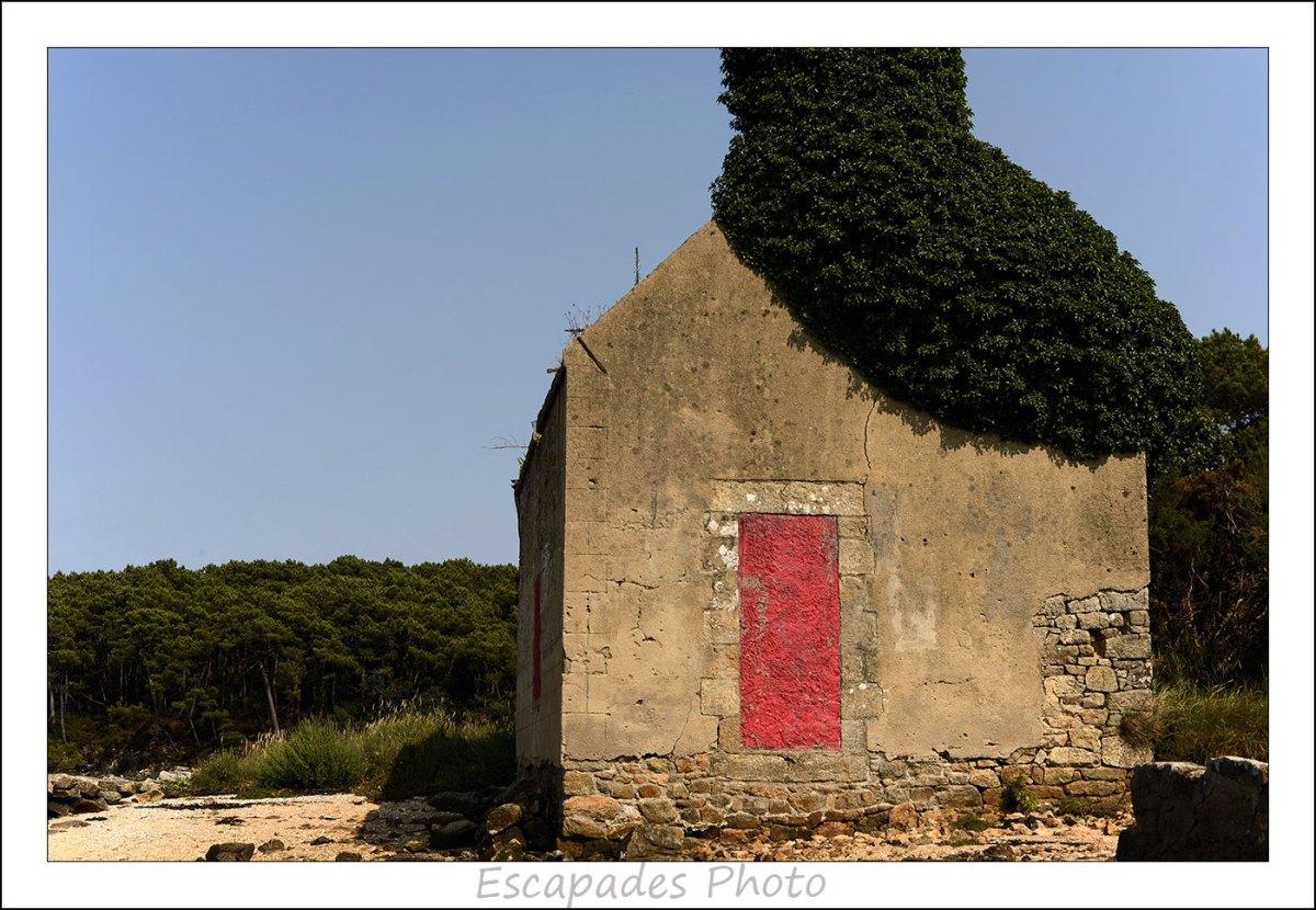 Ria d'Étel - La maison de Léonie au bout du chemin de Cadoudal