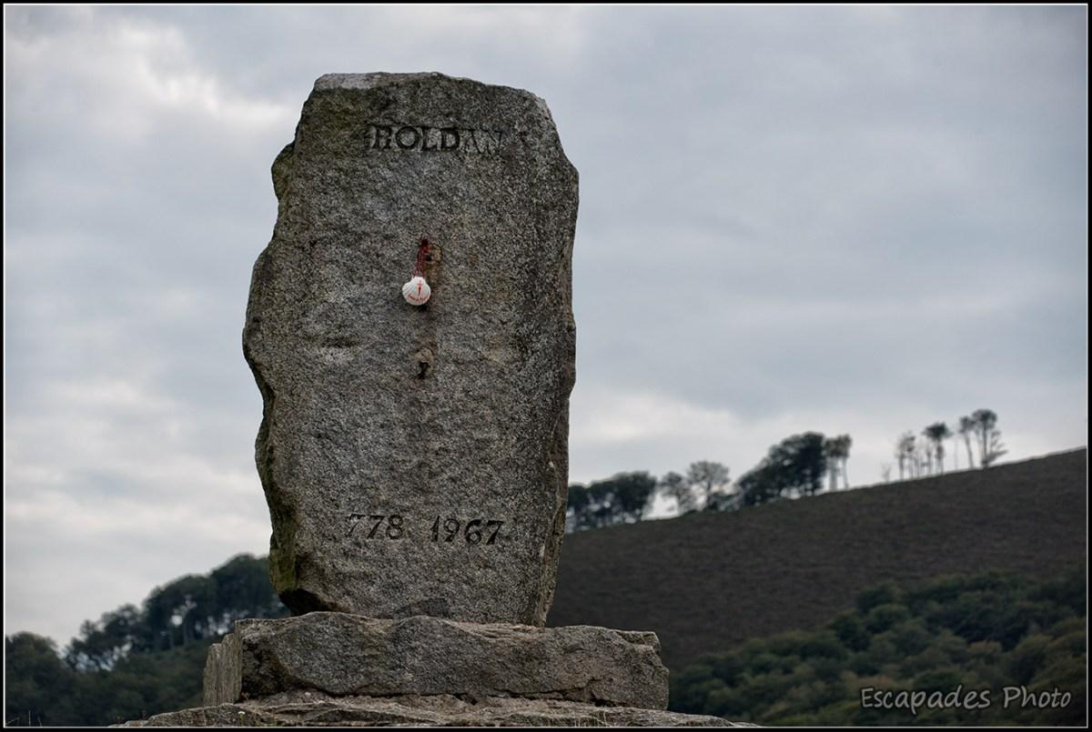 Monolithe de Roncevaux dédié à Roland