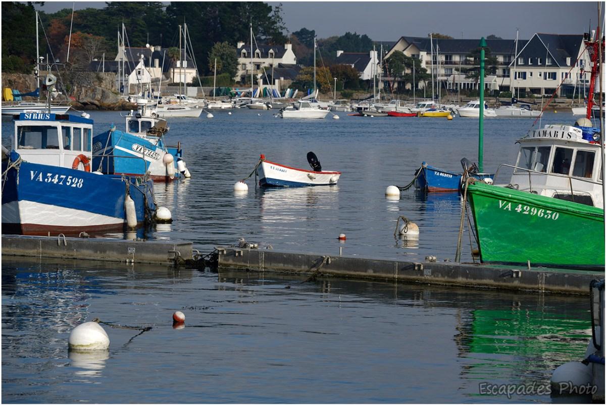 Port-Anna : Bateaux de pêche