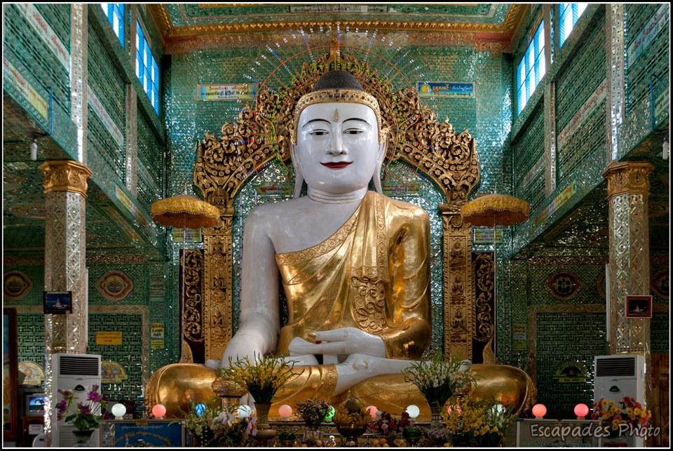 Bouddha pagode U Ponya - Sagaing