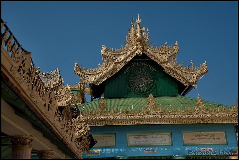 Pagode dans le style birman
