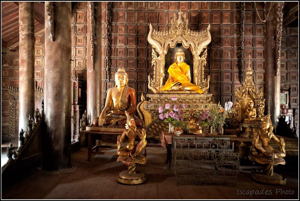 Shwenandaw Kyaung - Bouddha