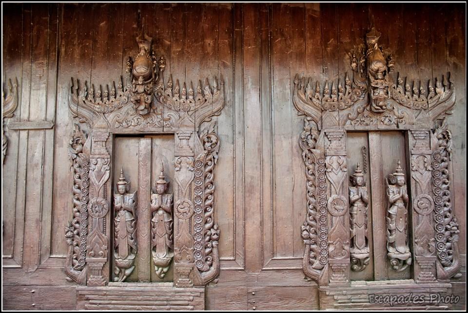Shwenandaw Kyaung - bas-reliefs