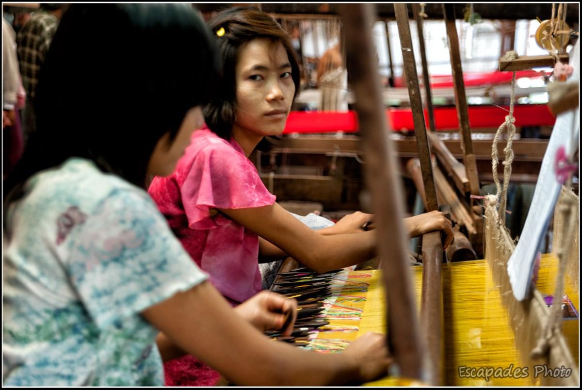 Amarapura - tissage artisanal