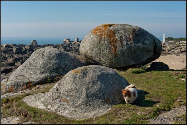 Pointe de la Jument : Les rochers et la pyramide