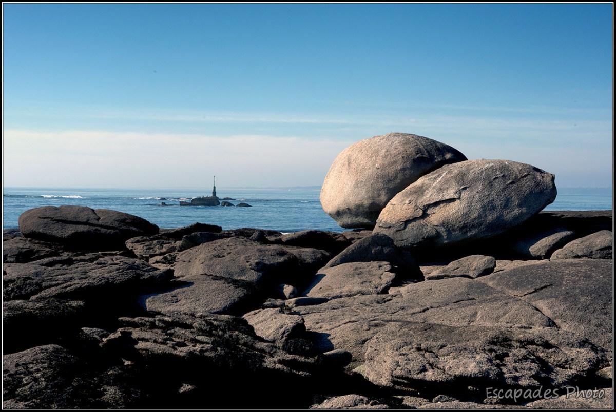 Pointe de la Jument : Une balis