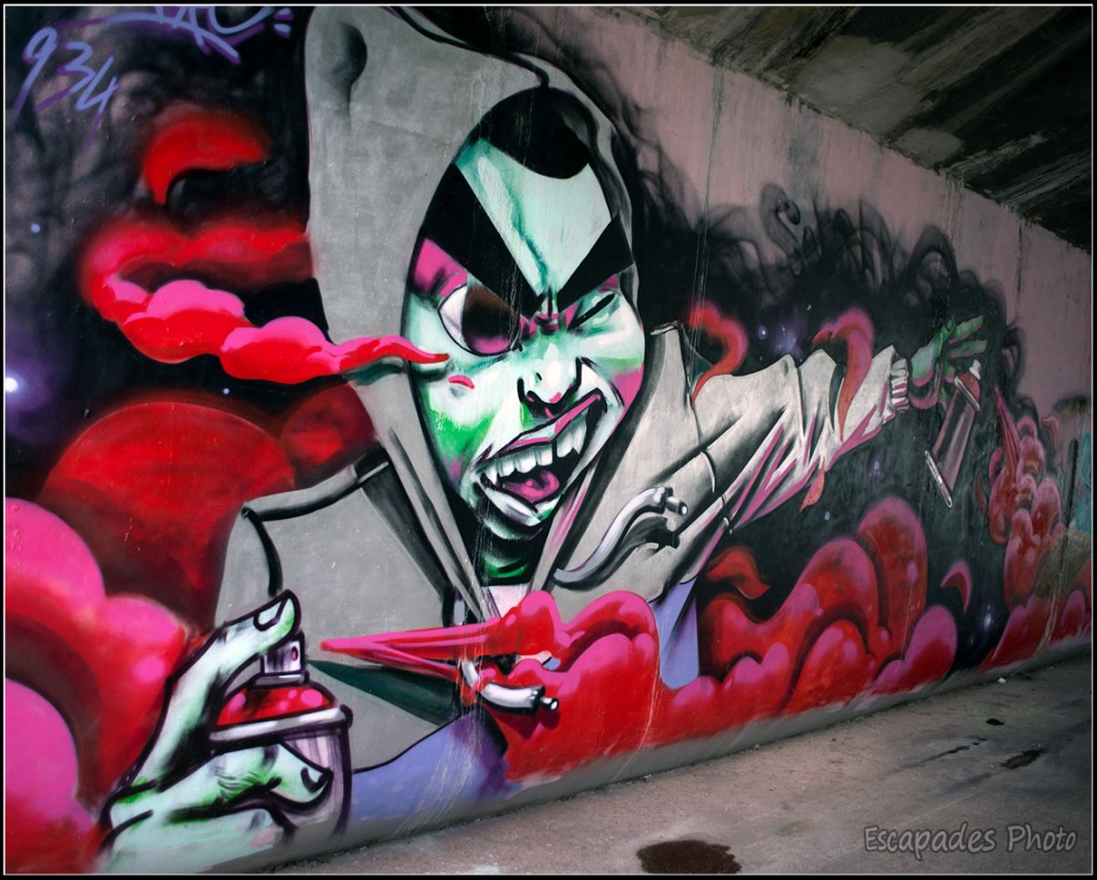 Street Art canal de l'Ourcq