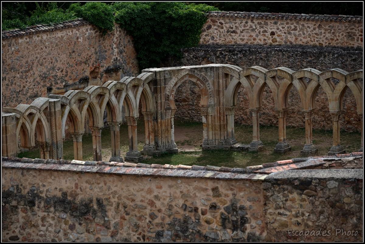 cloître San Juan de Duero - En surplomb