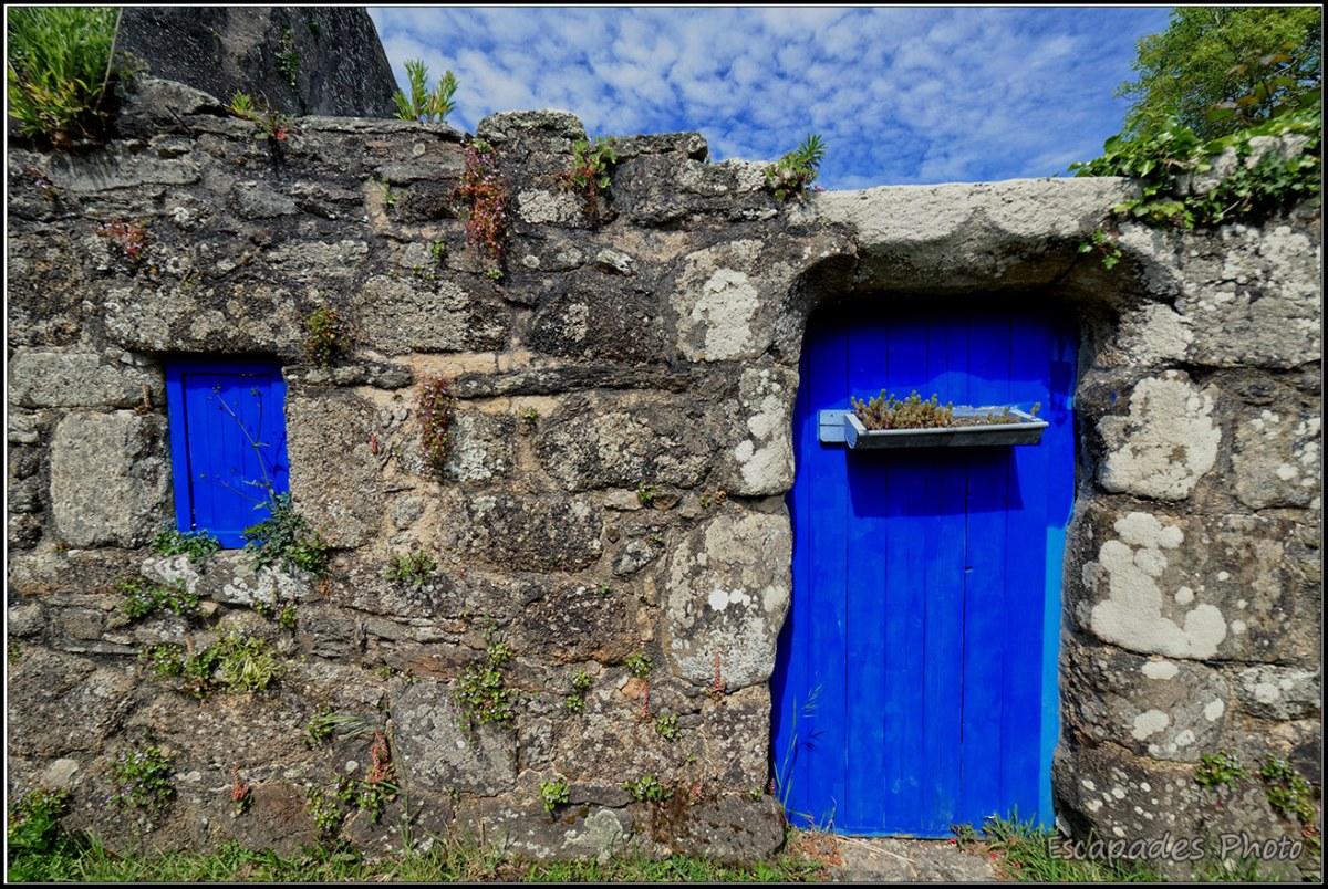 Kerascoët hameau du XVe détail d'une porte