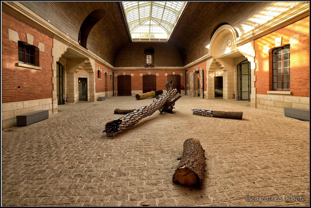 Ecuries de Trévarez : Exposition d'Après Nature