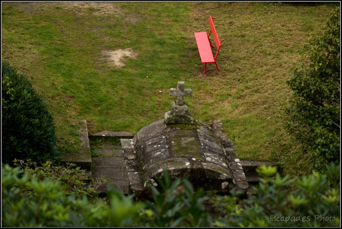 Patrimoine en perspective à Trévarez : Fontaine Saint-Hubertine Saint-Hubert