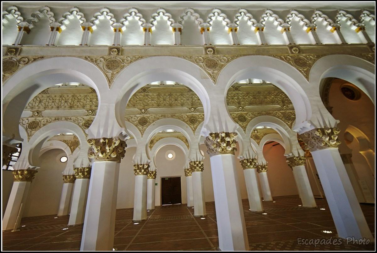 Santa María la Blanca la synagogue de Tolède