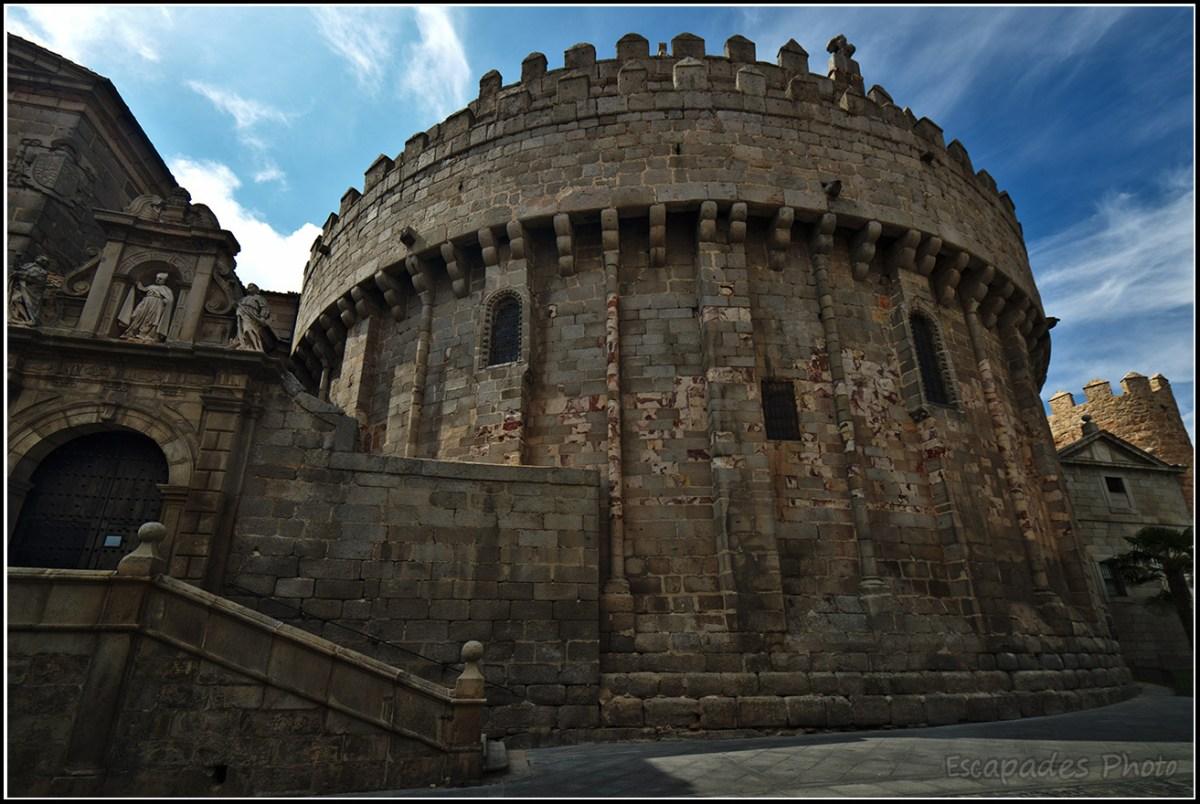 Abside de la cathédrale d'Avila
