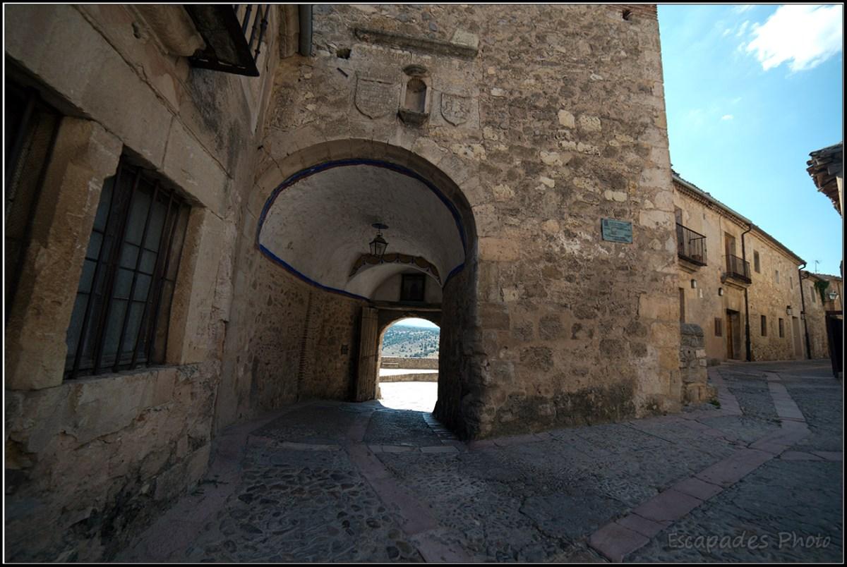 Ségovie - ancienne porte d'entrée dans la cité