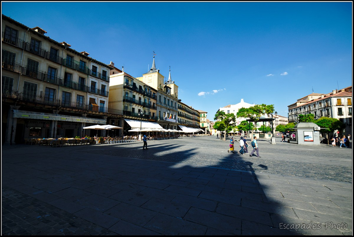 Plaza Mayor de Ségovie