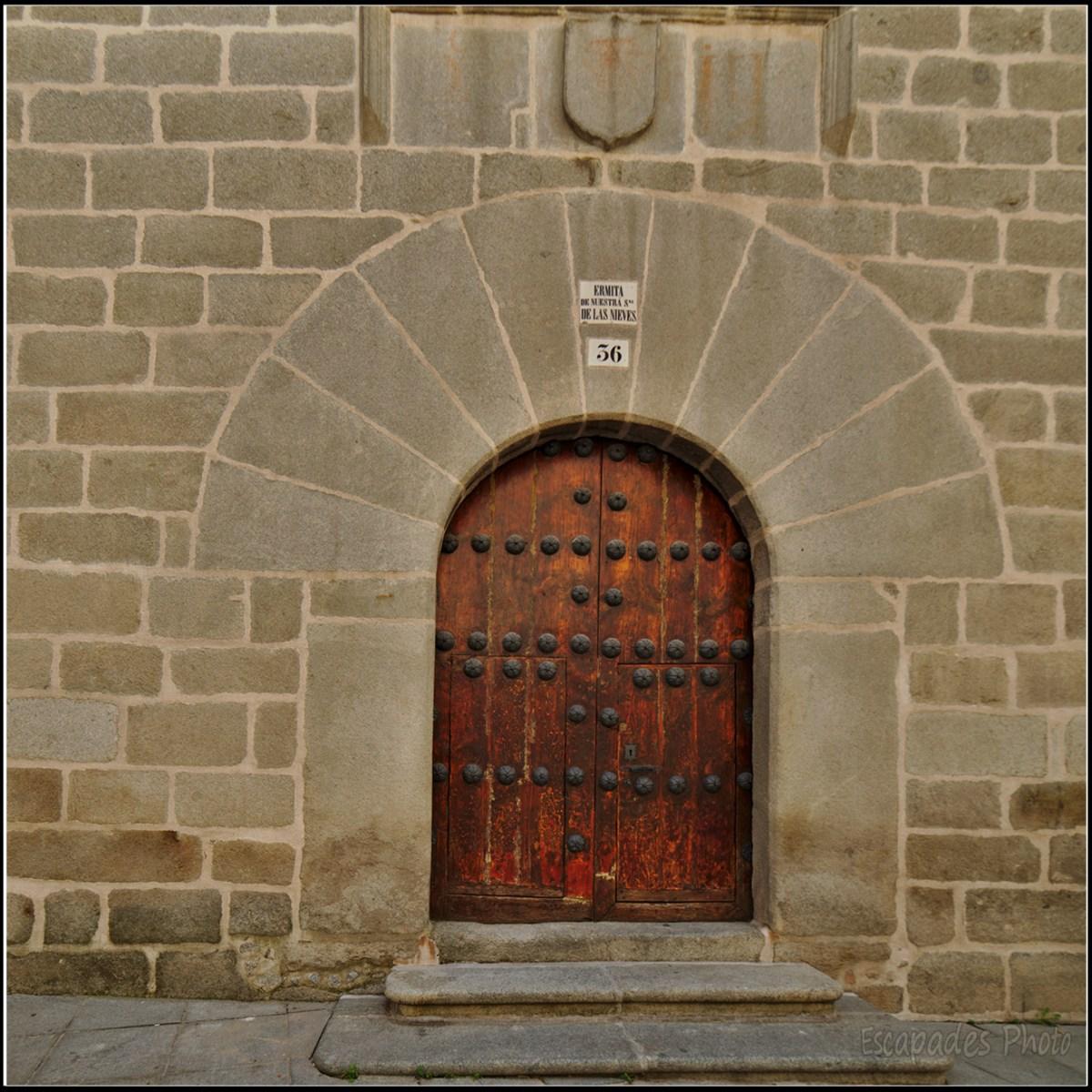 Avila : Ermita de Nuestra Señora de las Nieves
