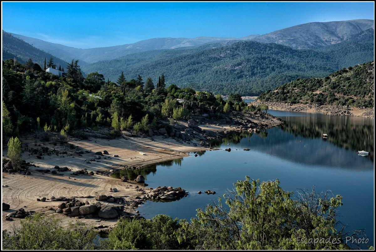 Lac de barrage de Burguillo