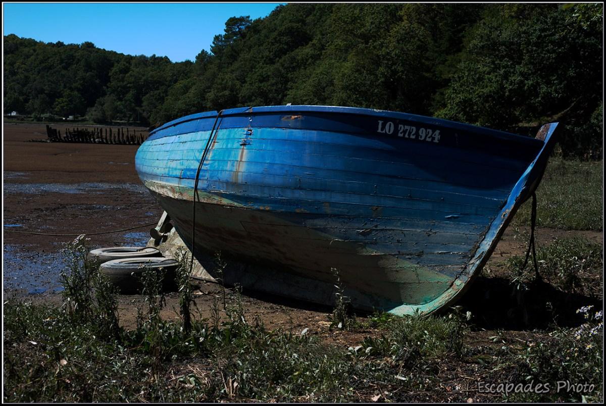 Chaloupe LO 272 924 - Cimetière de bateaux Kerhervy Lanester
