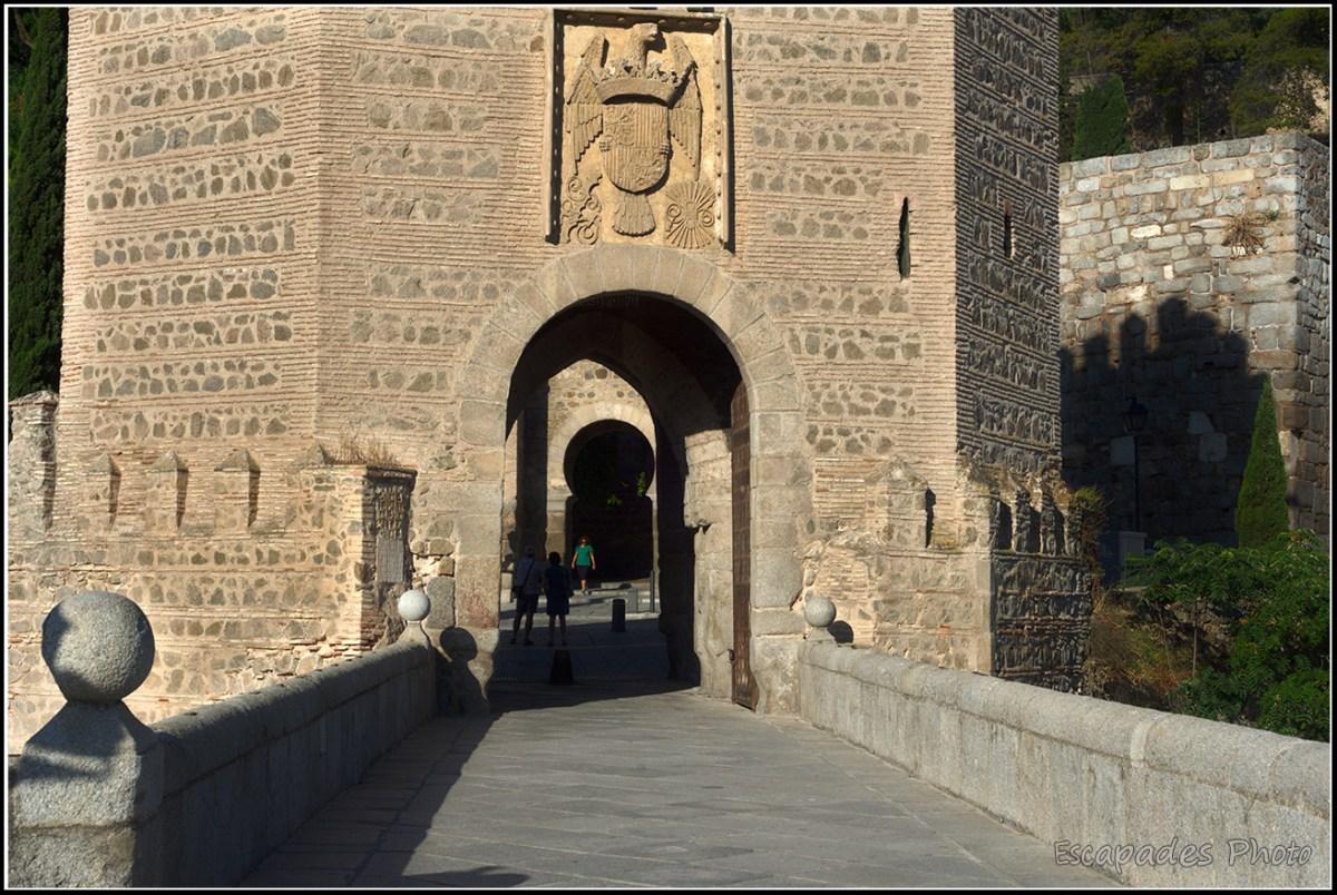 Porte de la ville - Pont d'Alcántara Tolède