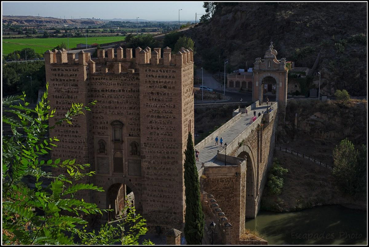 Pont d'Alcántara Tolède vue d'ensemble
