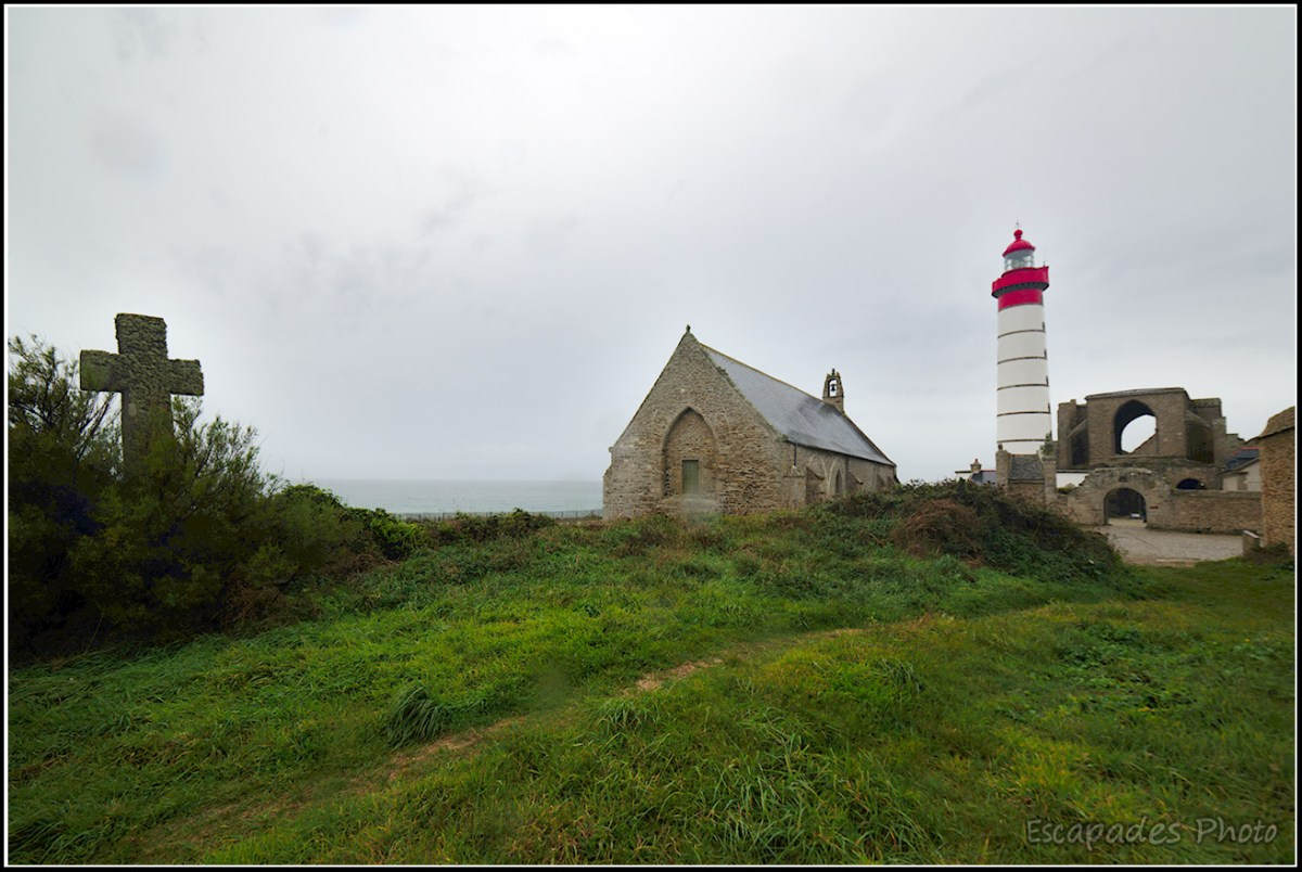 Saint-Mathieu, Abbaye, phare et chapelle Notre-Dame de Grâce