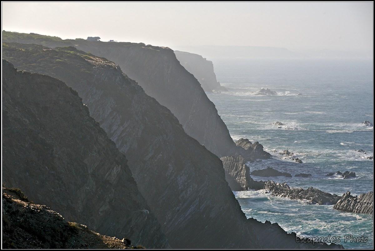 Les falaises de Cabo Sardão