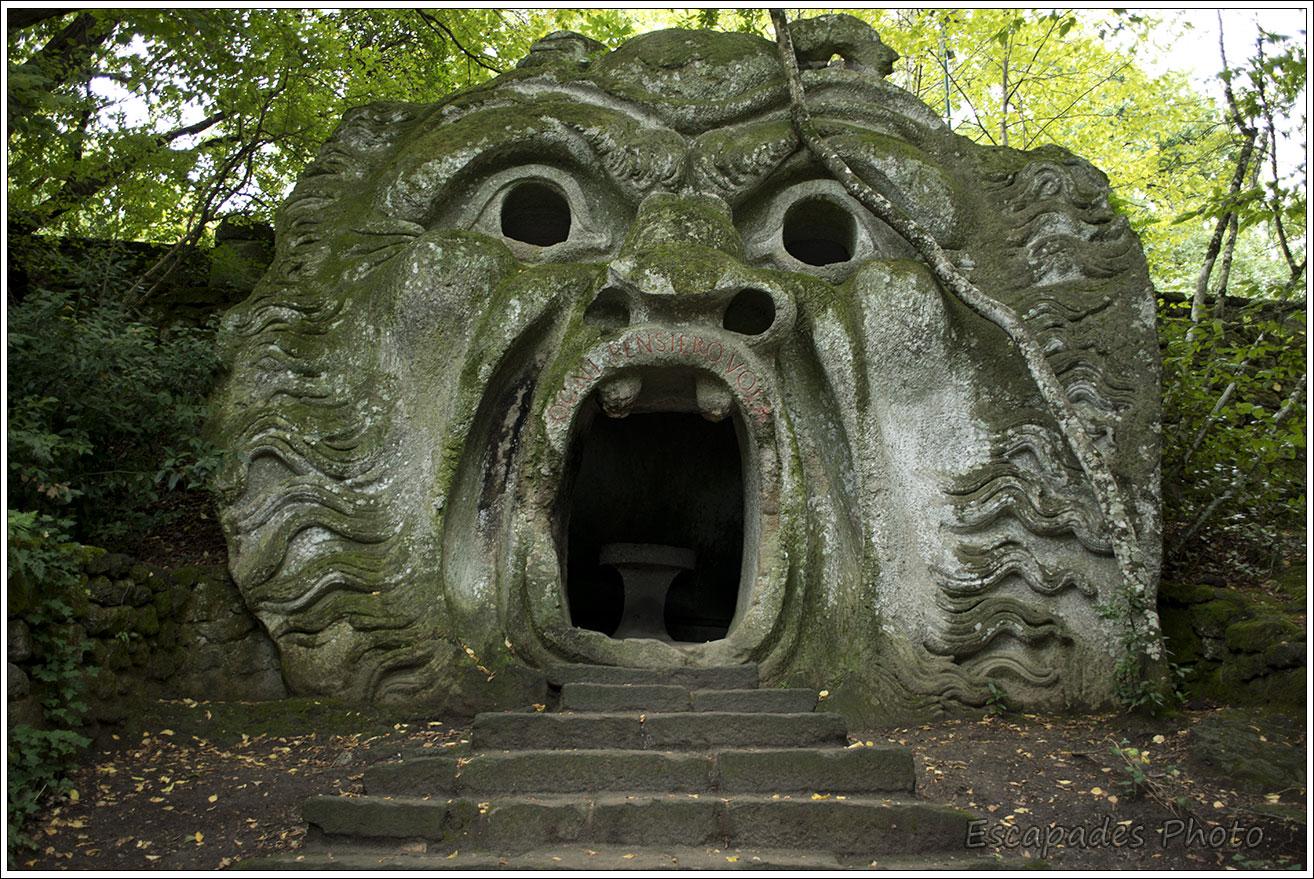 Bormazo parc des monstres, entrons dans le bois Sacré