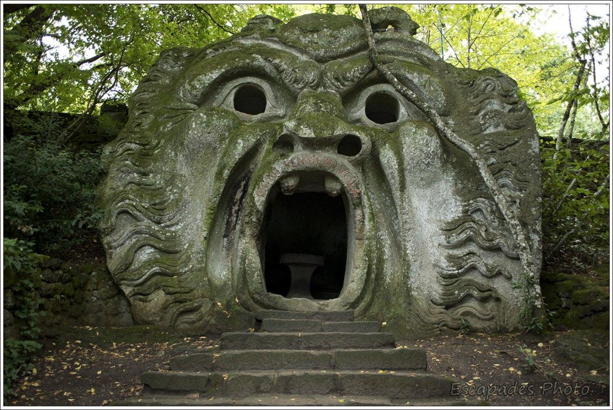 Monstre du bois sacré de Bormazo : l'Ogre