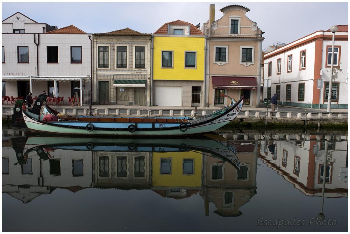Aveiro, les moliceiros dans les canaux de la ville