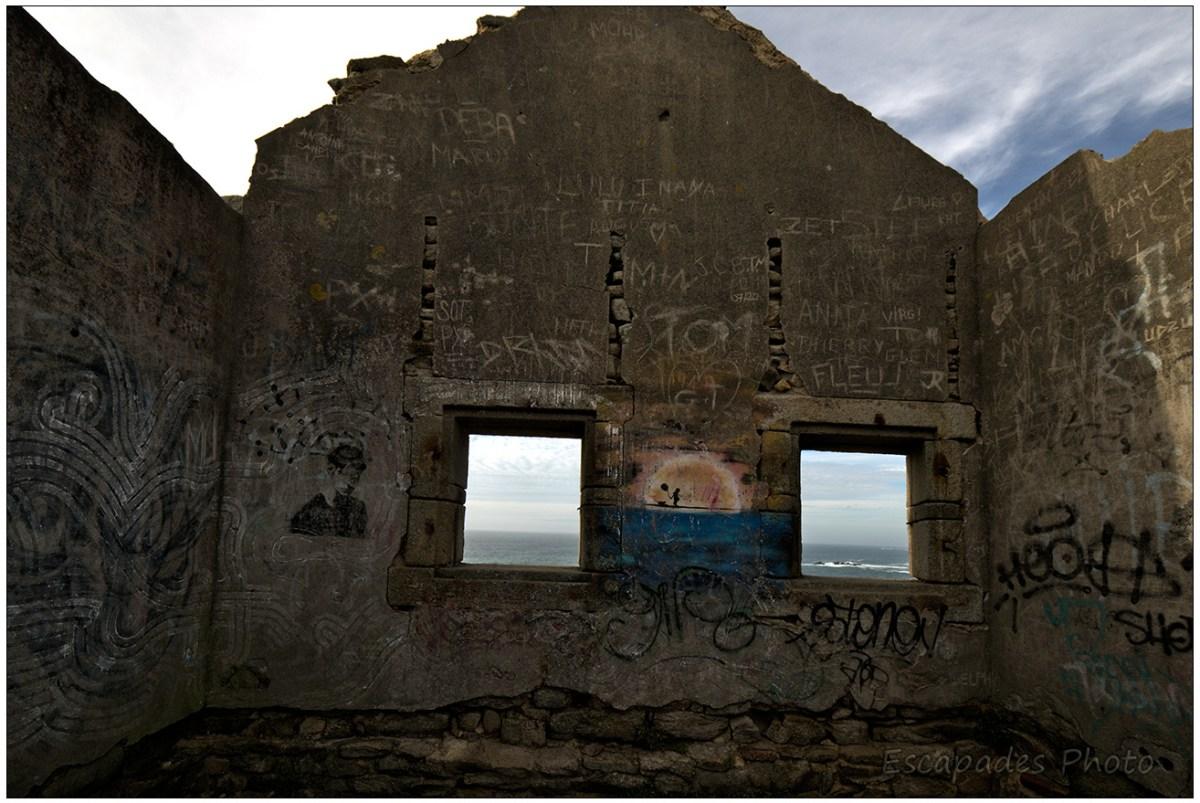 la Maison des douaniers à la Pointe du Percho - Fenêtres sur l'océan