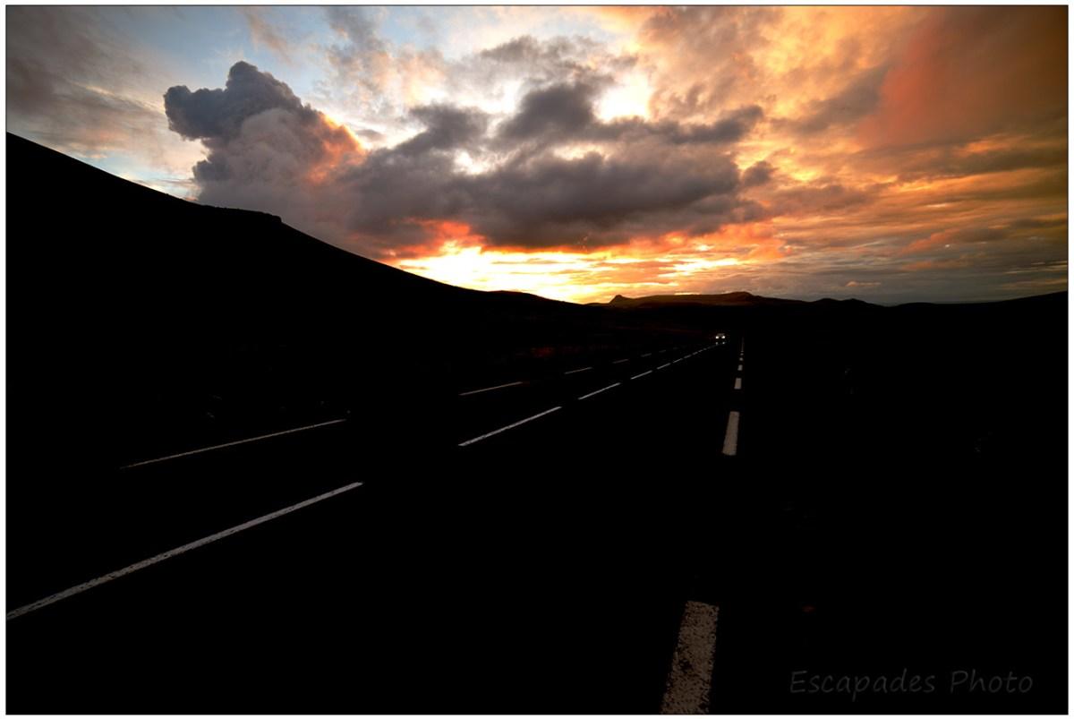 Crépuscule au Col de la Croix Morand