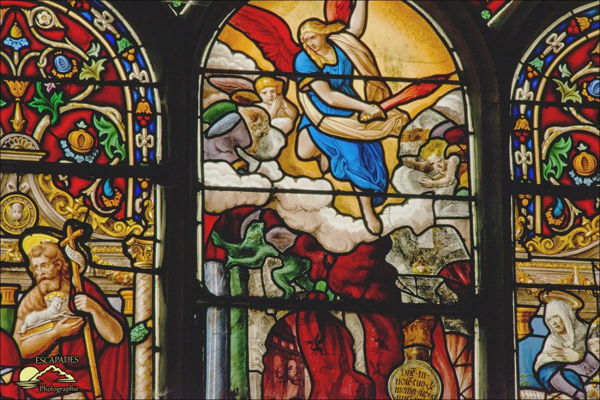 Vitraux de la cathédrale Saint-Pol Aurélien