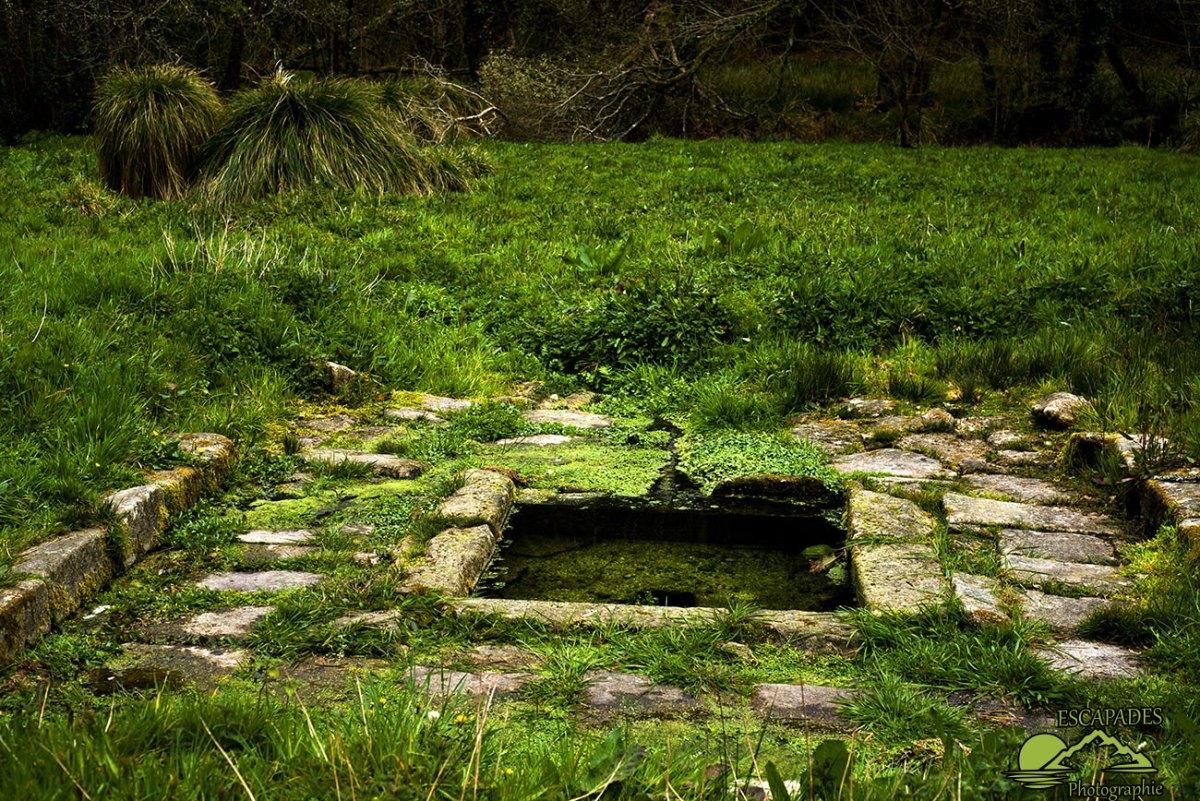 Lanvénégen, la balade de la Trinité - La Trinité, une chapelle en et deux fontaines