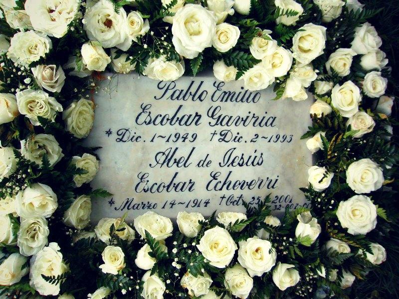 Medellin - Grab von Pablo Escobar