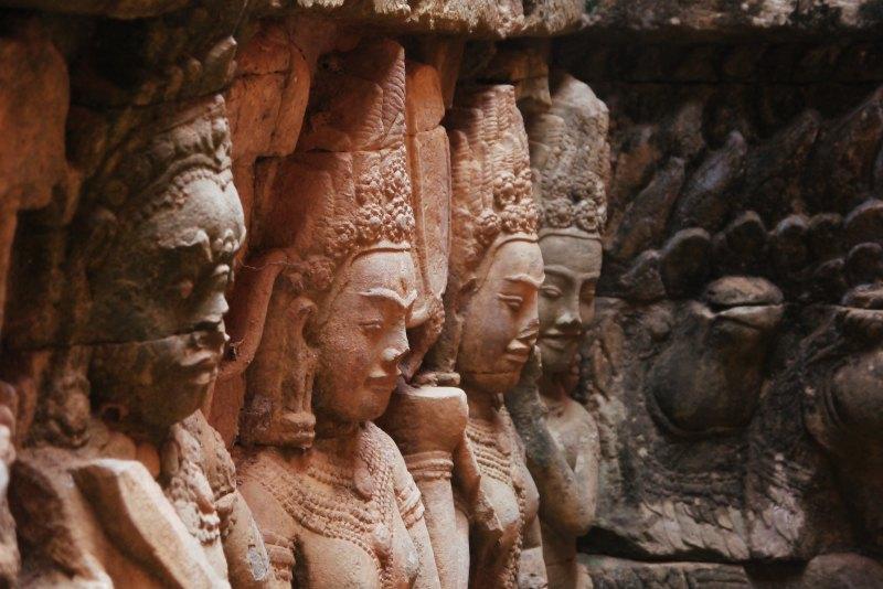Details in Angkor Wat