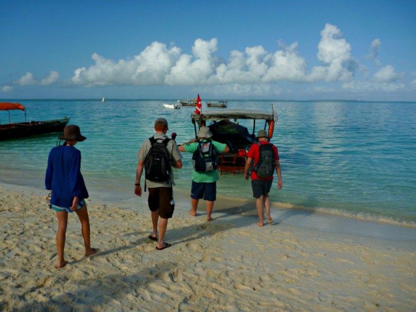Gruppenreise: Zusammen in einem Boot