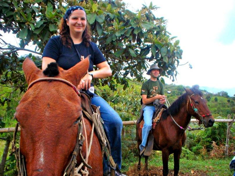 Gruppenreise Kolumbien: Mit den Gauchos ab aufs Pferd