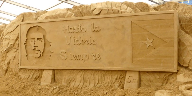 Sandskulpturen Festival Usedom: Kuba