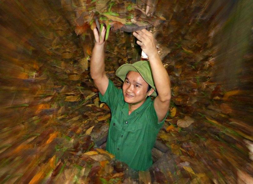 Vietnam: Cu Chi Tunnel