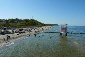 Usedom: Strand von Heringsdorf