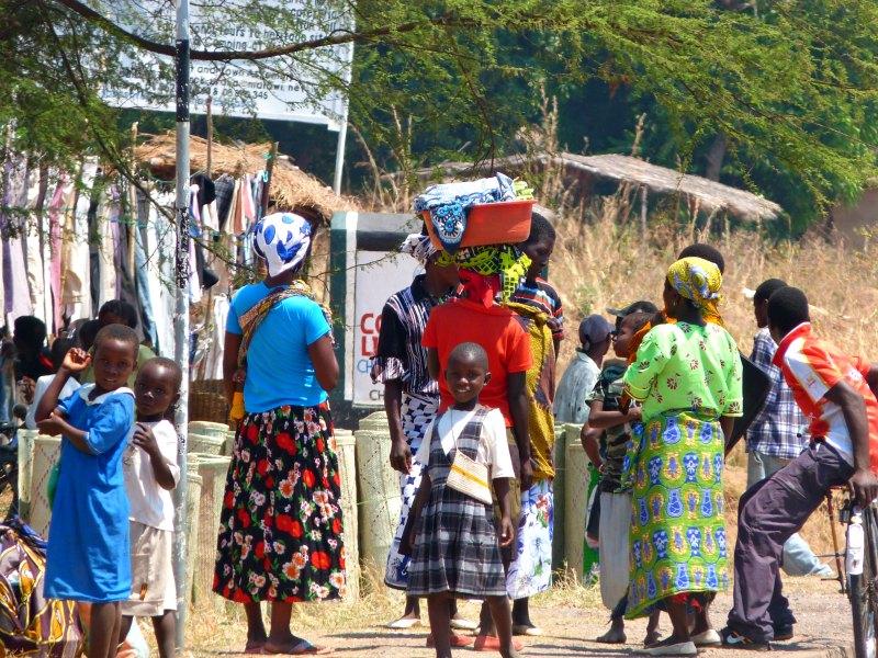 Dorfleben in Malawi