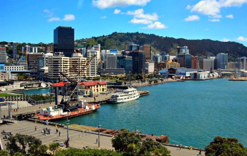 Neuseelands Hauptstadt Wellington
