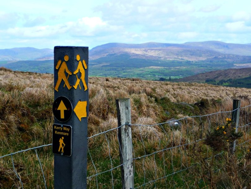 Wandern auf dem Kerry Way, Ring of Kerry, Irland