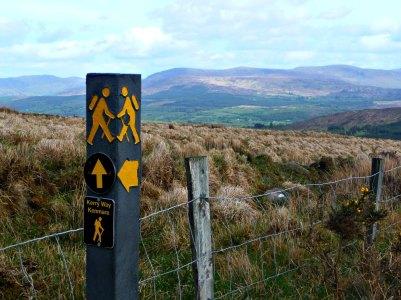 Wandern auf dem Kerry Way, Ring of Kerry, Irland