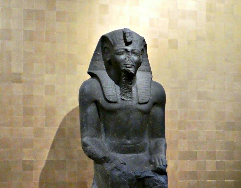 Ramses Ausstellung Karlsruhe: Monumentale Statue