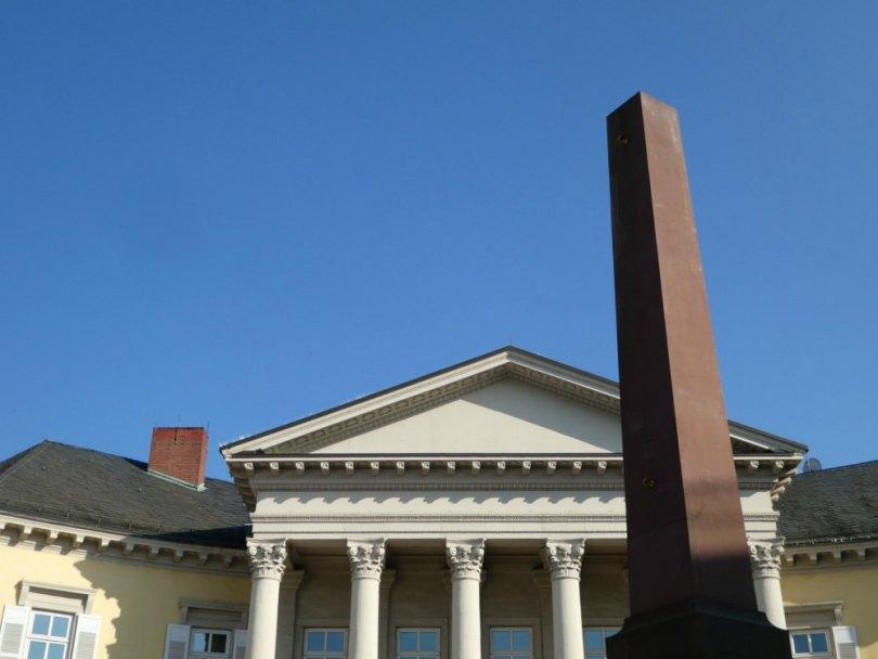 Ägypten in Karlsruhe: Obelisk am Rondellplatz