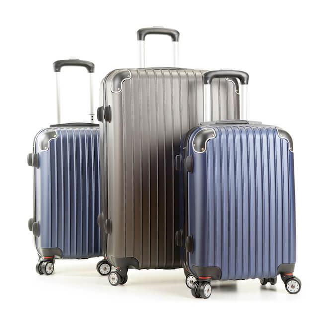 Reisgepäck Vergleich - Reisekoffer in verschiedenen Größen (Bild: Kofferfuchs.de)