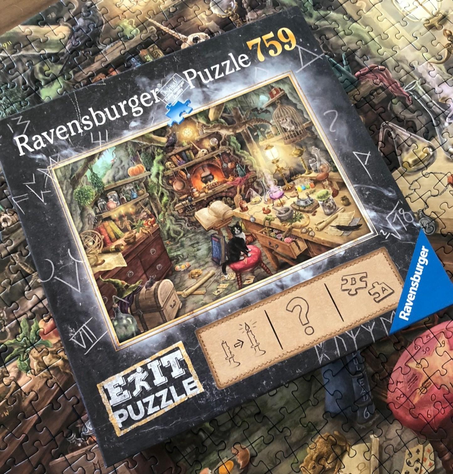 exit puzzle drachenlabor finale lösung